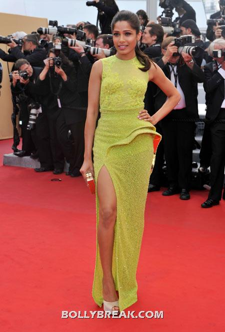 Freida Pinto - (13) - Celebrity Pictures in Neon Dresses - Bollywood, Hollywood