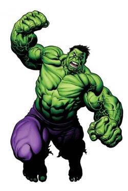Dubujo de Hulk