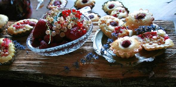 dolcetti ai frutti di bosco
