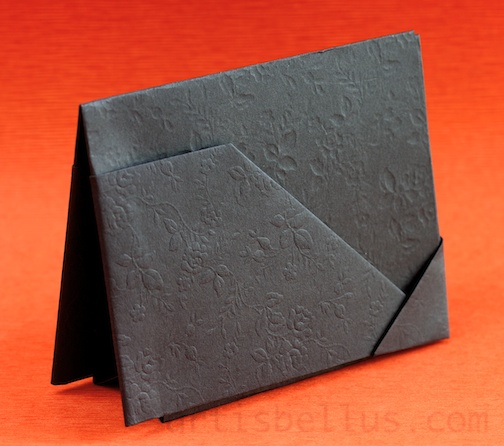 Fathers Day Origami Card Holder Origami Artis Bellus