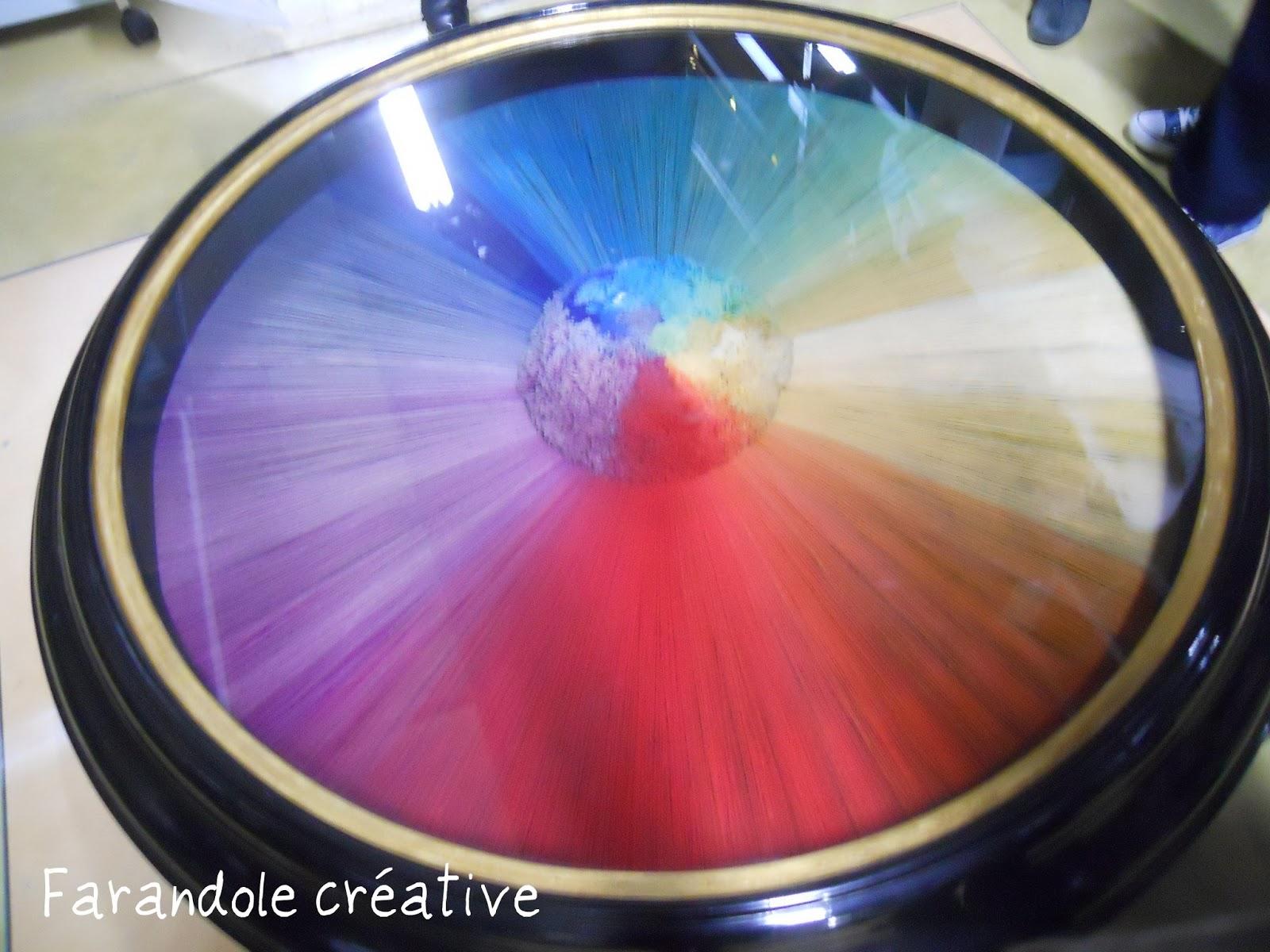 Farandole Créative Pompon Arc En Ciel