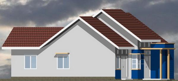 Galeri ide Model Rumah Minimalis Type 21 Tingkat 2 Lantai 2015 yang bagus