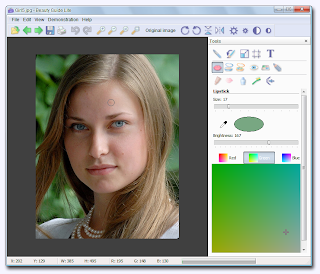 Beauty Guide Lite , image editing software, image enhancing software, freewares, windows softwares, portable softwares,