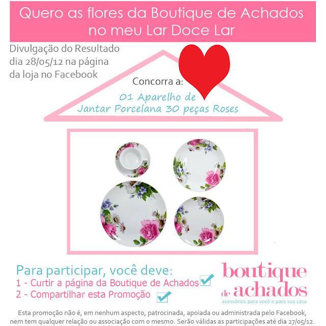 boutique de achados no facebook, loja virtual de decoração