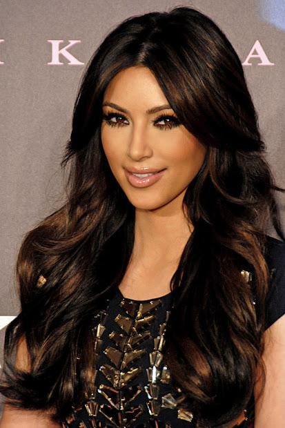 kim kardashian hair color fresh