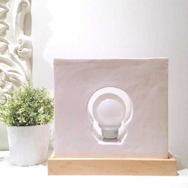 lámpara cerámica covitaca