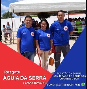 RESGATE ÁGUIA DA SERRA