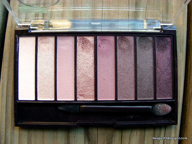 CoverGirl TruNaked Roses Eyeshadow Palette Review