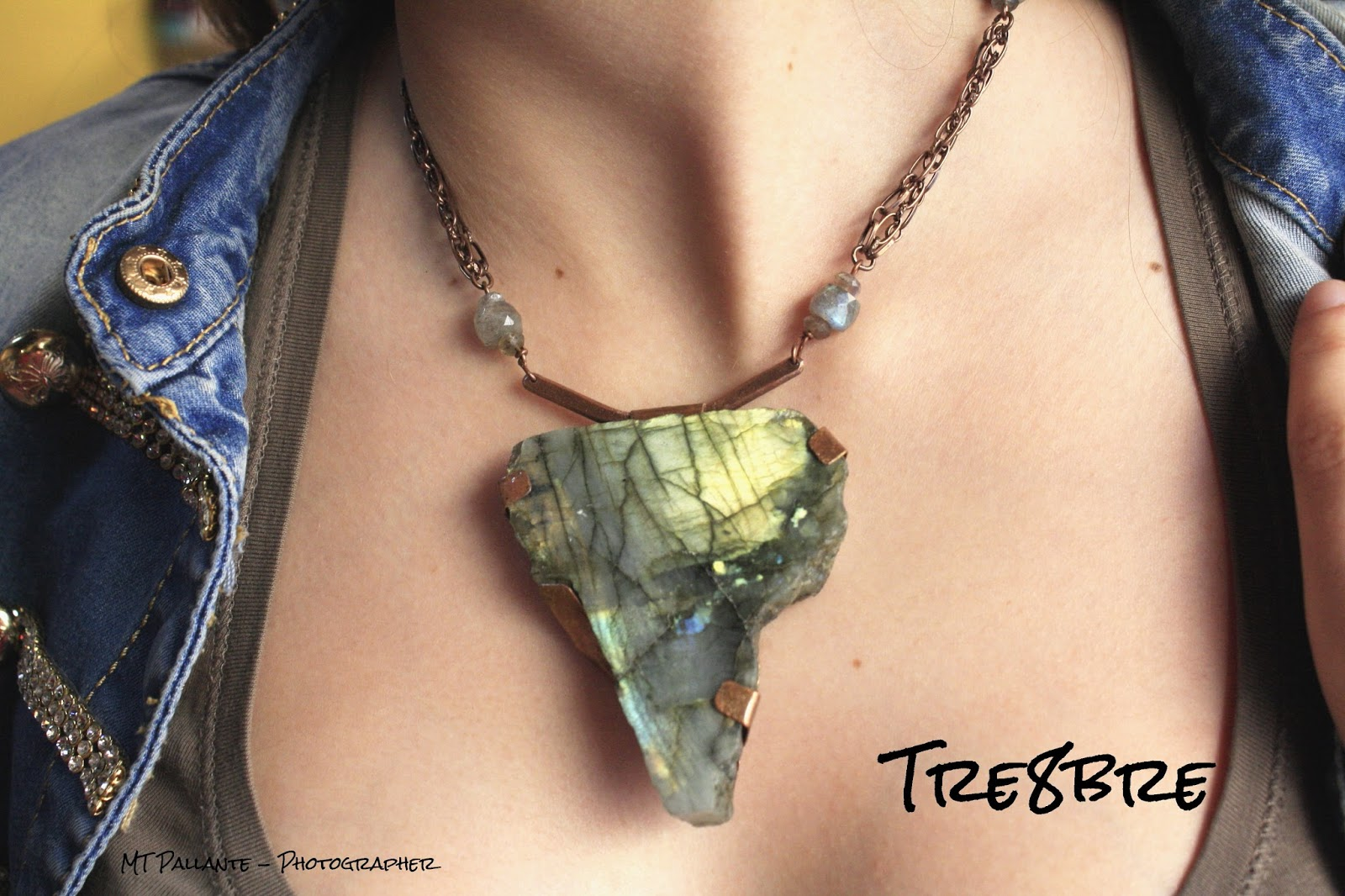 Africa worn - Labradorite and Copper by Tre8bre