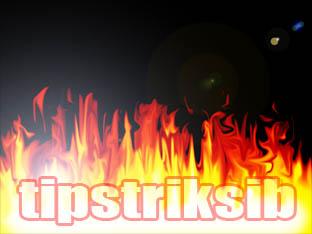 ... sederhana bukan trik trik cara membuat efek api menggunakan photoshop