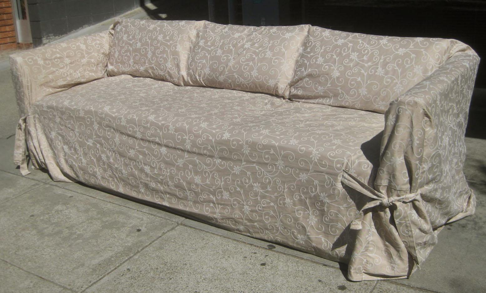 SOLD   Boxy Sofa   $80