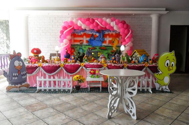 tema de festa de aniversário infantil - Galinha Pintadinha