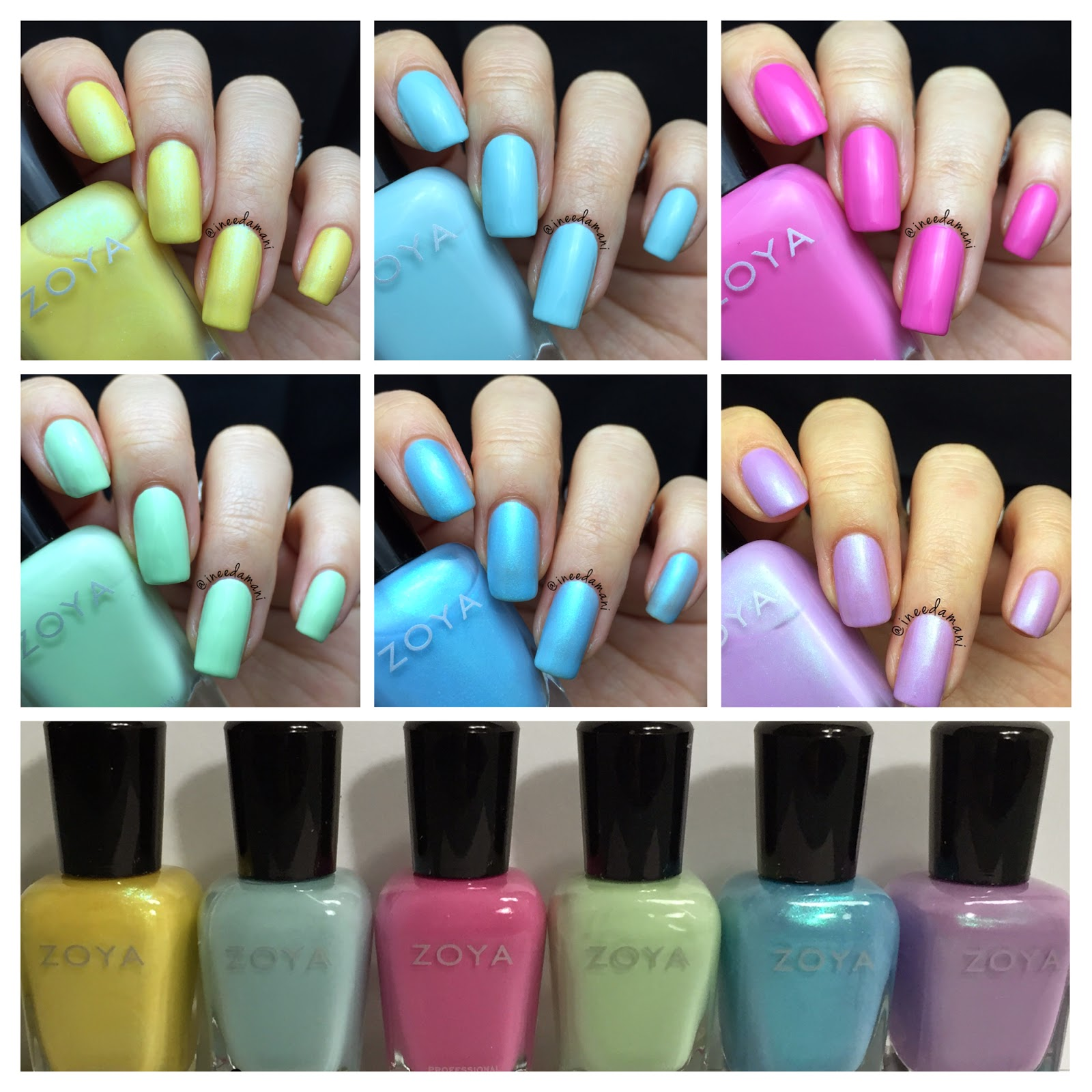 Nail Polish Addict: Zoya Naturel Satin 2015 Zoya Delight 2015