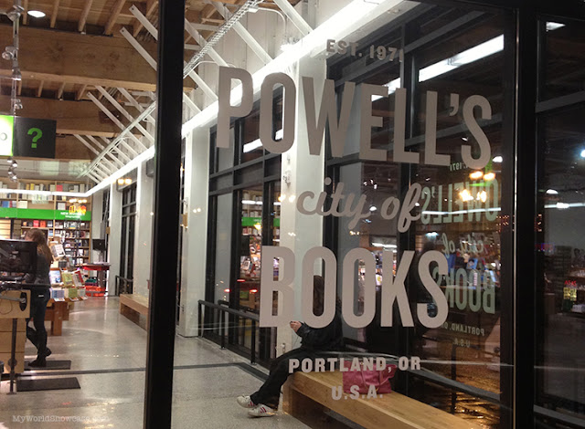 Powell's City of Books in Portland, OR