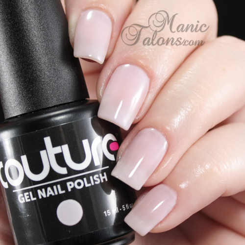 Couture Gel Polish Francais swatch
