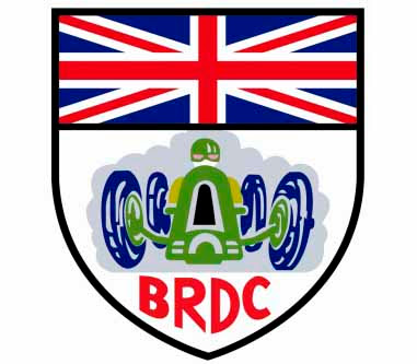 British Racing Drivers Club (brdc) logo