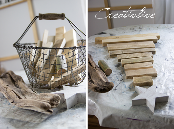 DIY Holz-Tannenbaum  creativLIVE
