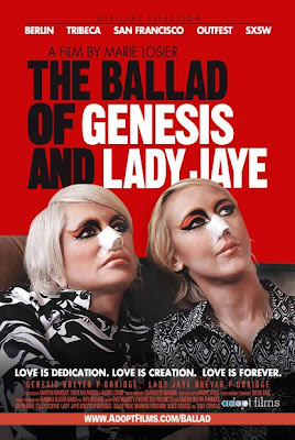 Poster for The Ballad of Genesis and Lady Jaye