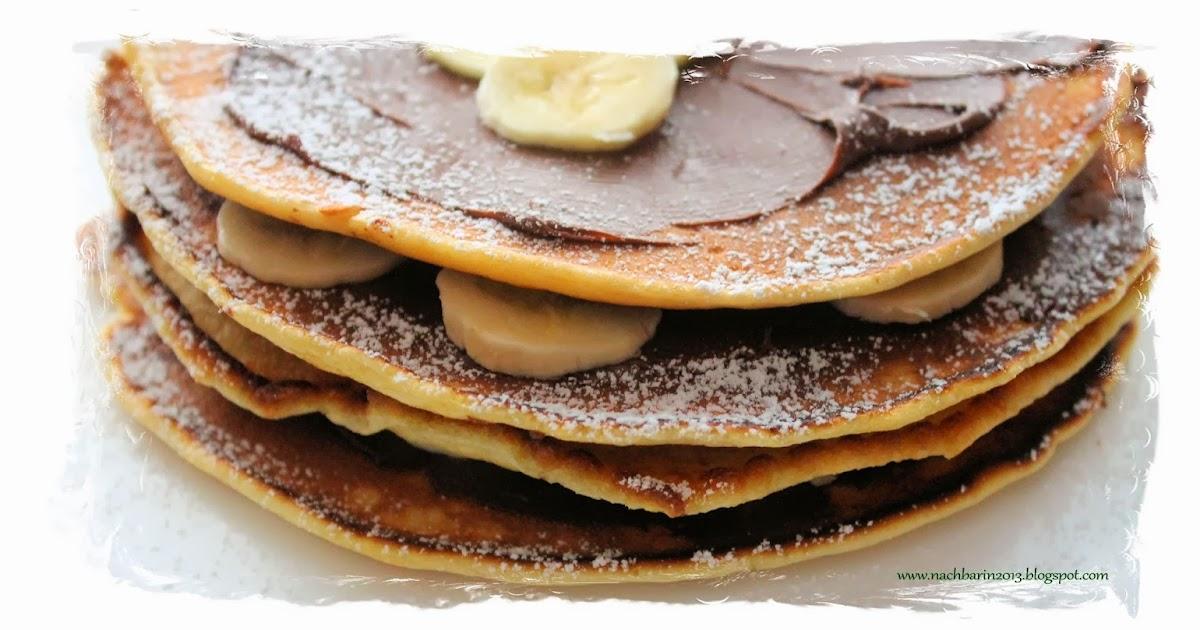 Pan Cake Banane Avoine Gras Ou Pas
