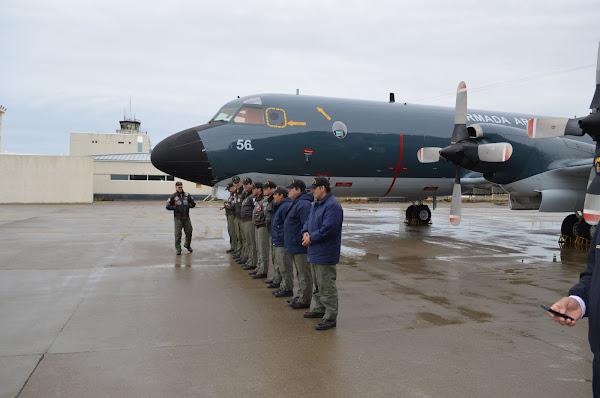 La EA6E en Río Grande (T. del Fuego)