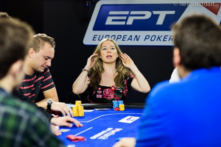 Vicky Coren EPT San Remo Final Table