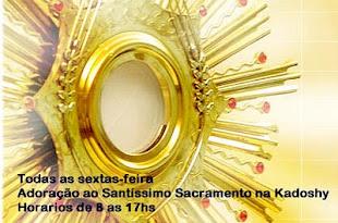Adoração ao Santíssimo na Kadoshy