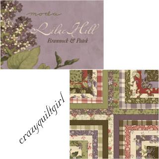 Moda LILAC HILL Quilt Fabric by Brannock & Patek