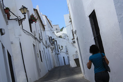 A typical street in Vejer de la Frontera