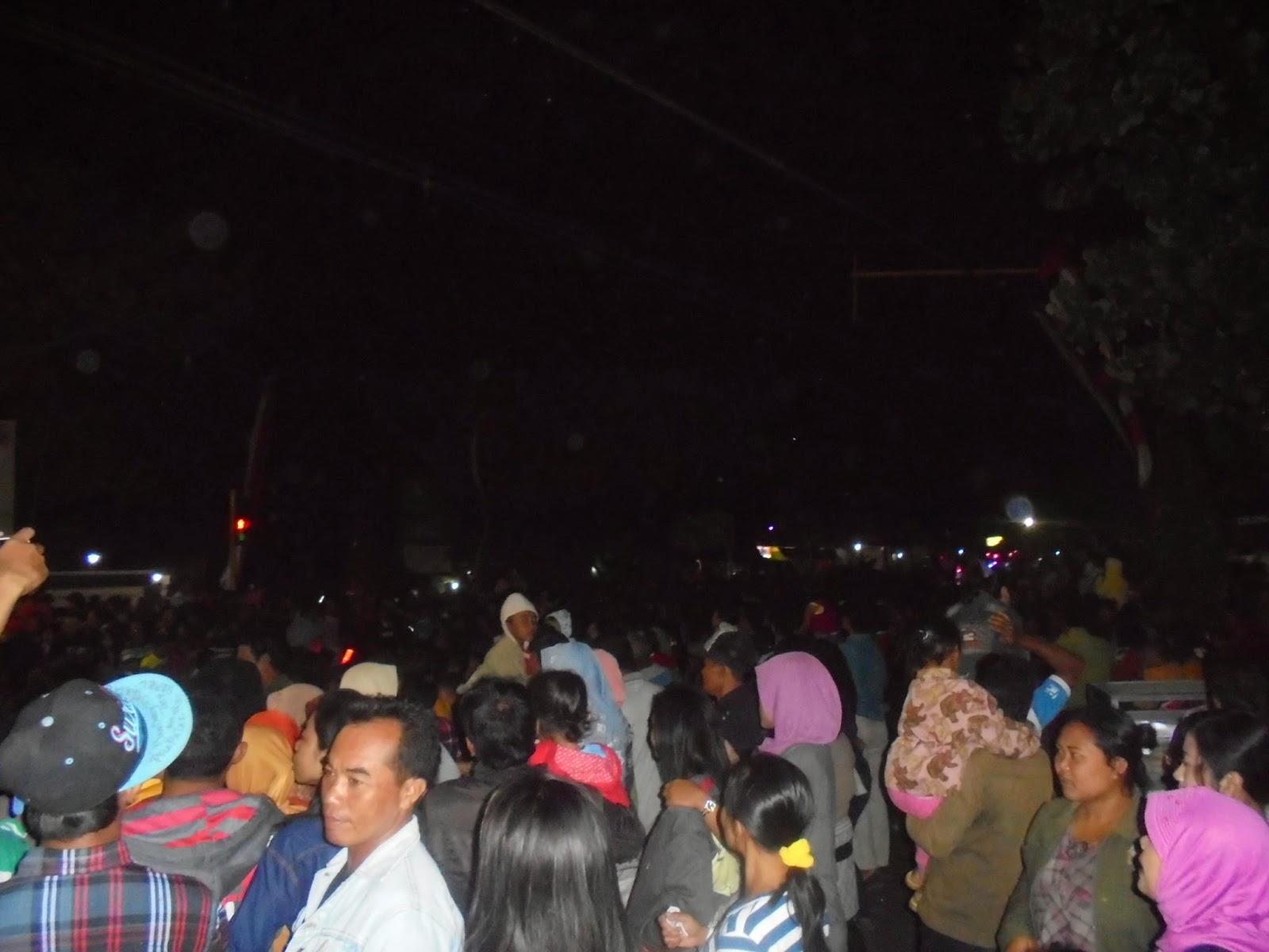 Suasana Acara Leang-Leong