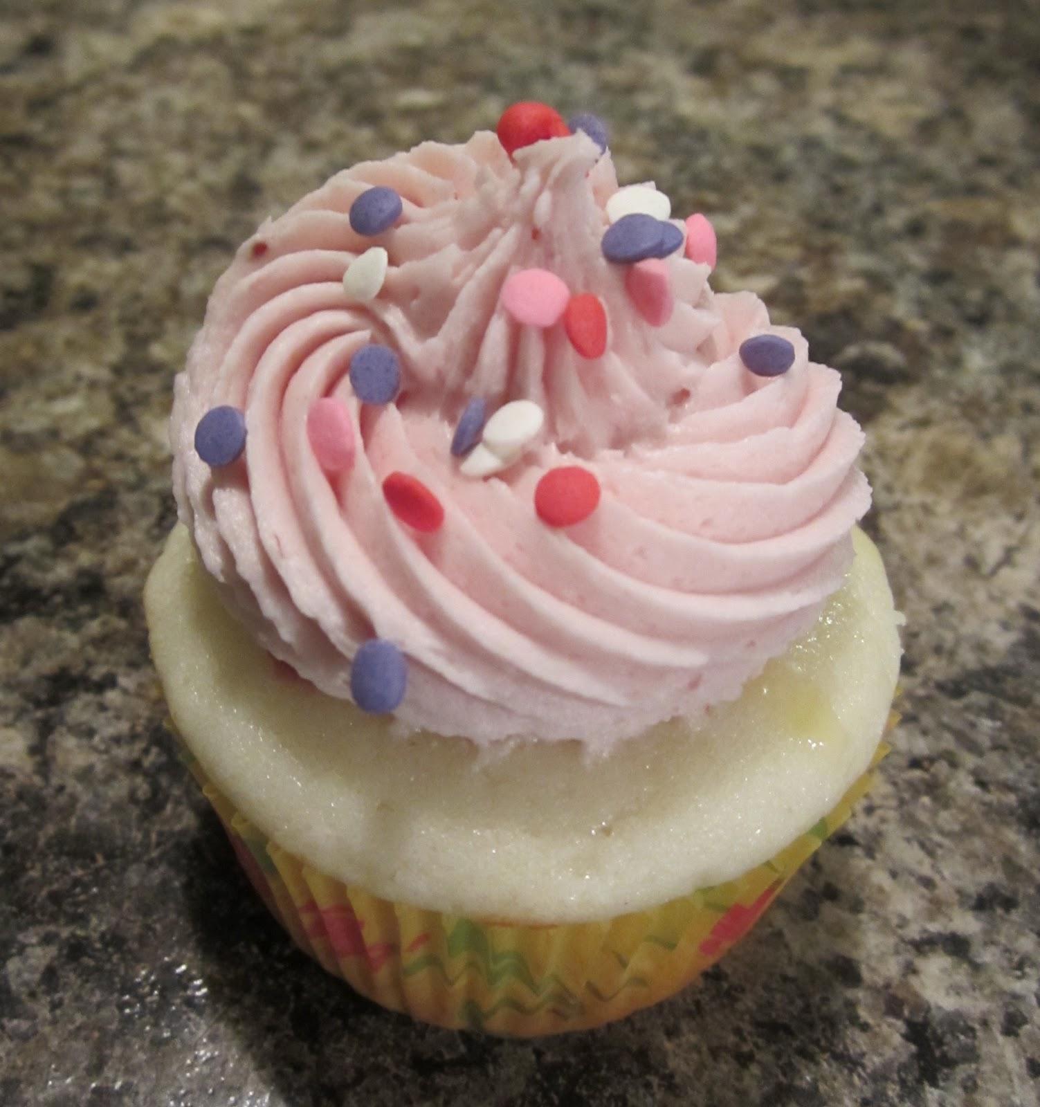 Lemon Raspberry Cupcakes With Box Cake Mix
