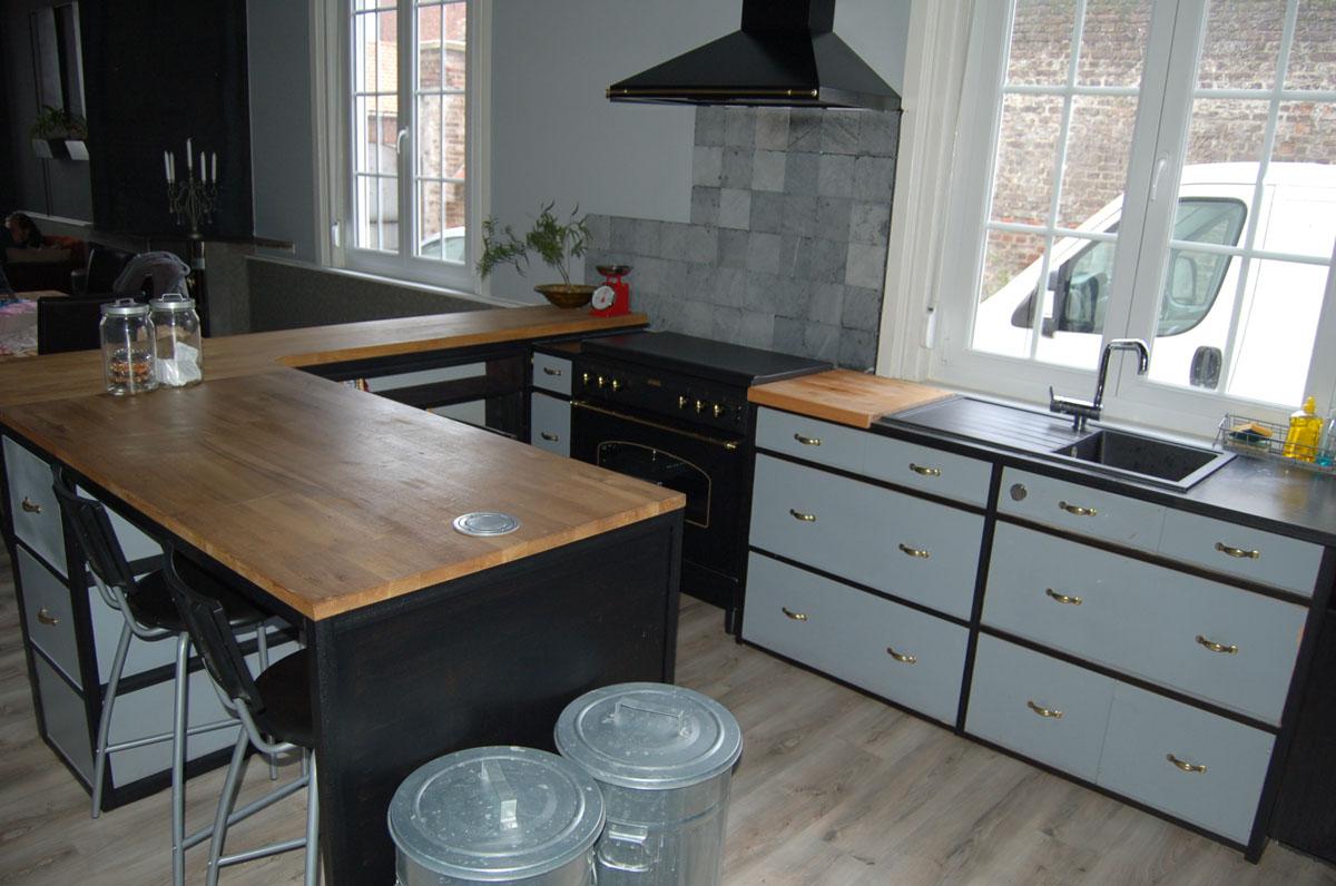 blog de la maison de l 39 imaginarium l 39 ambiance factory 100 sur mesure cuisine. Black Bedroom Furniture Sets. Home Design Ideas