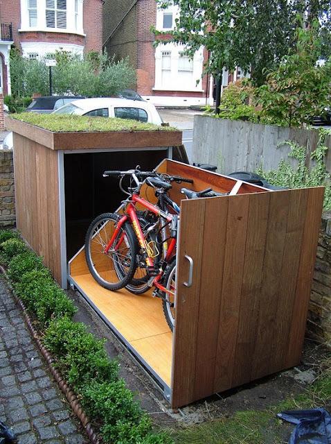 Garage für Fahrräder – der Selbermachen-Tipp für Fortgeschrittene!