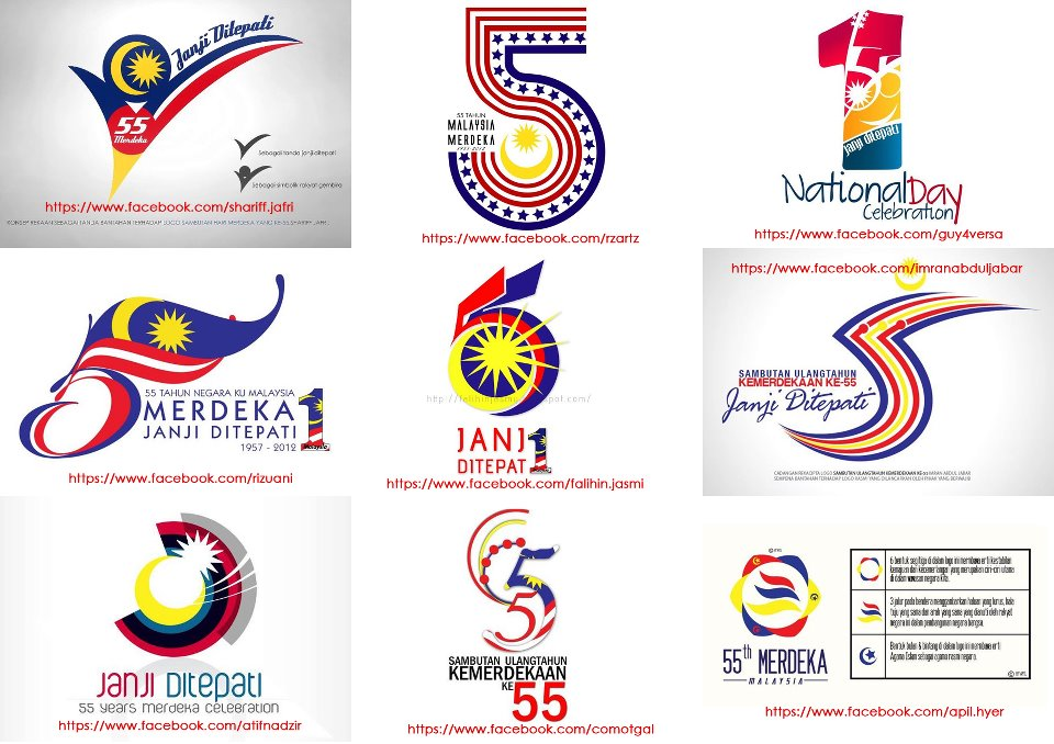 Namee Roslan Logo Kemerdekaan 2012