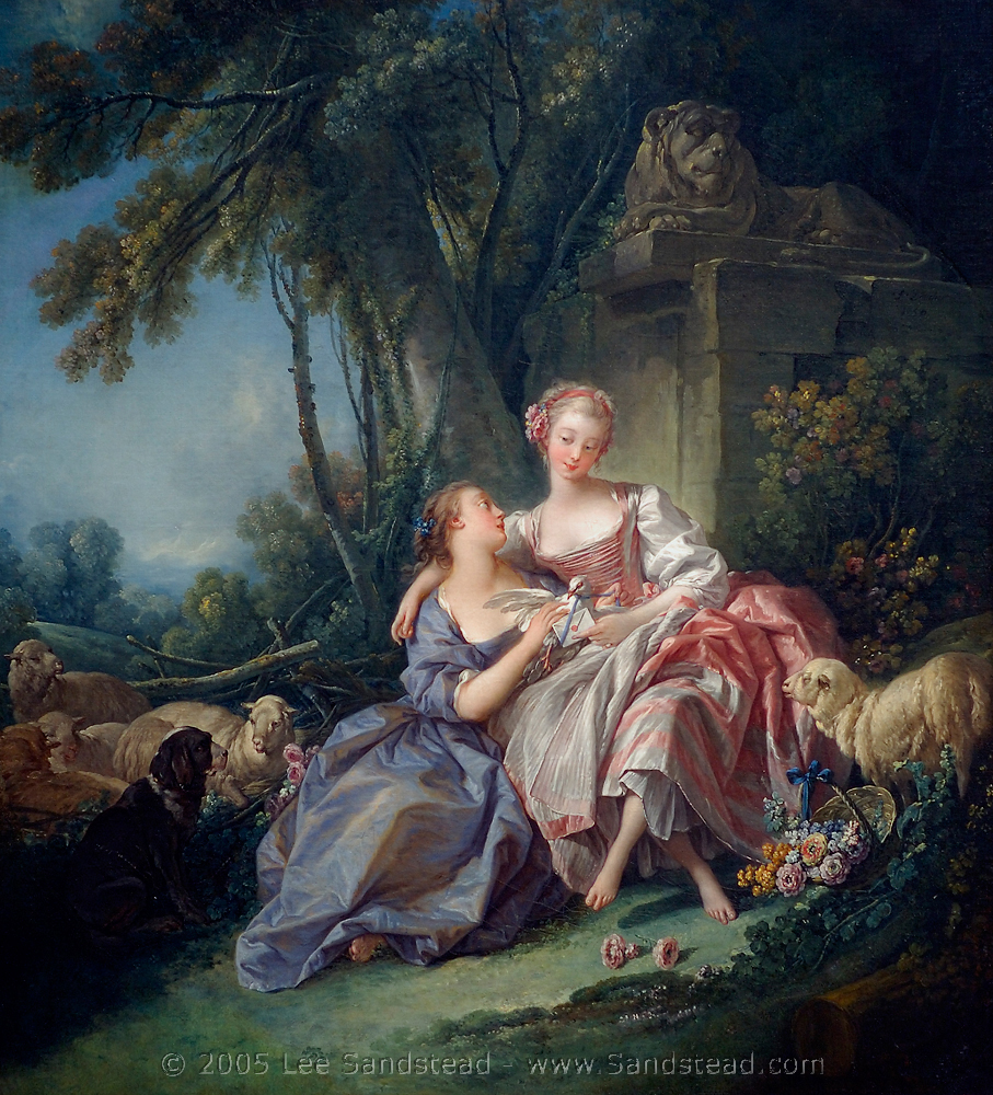 th century keeping it real  boucher s masterpieces and the charming intimate gatherings depicted in fragonard s paintings one might think living in the eighteenth century was one