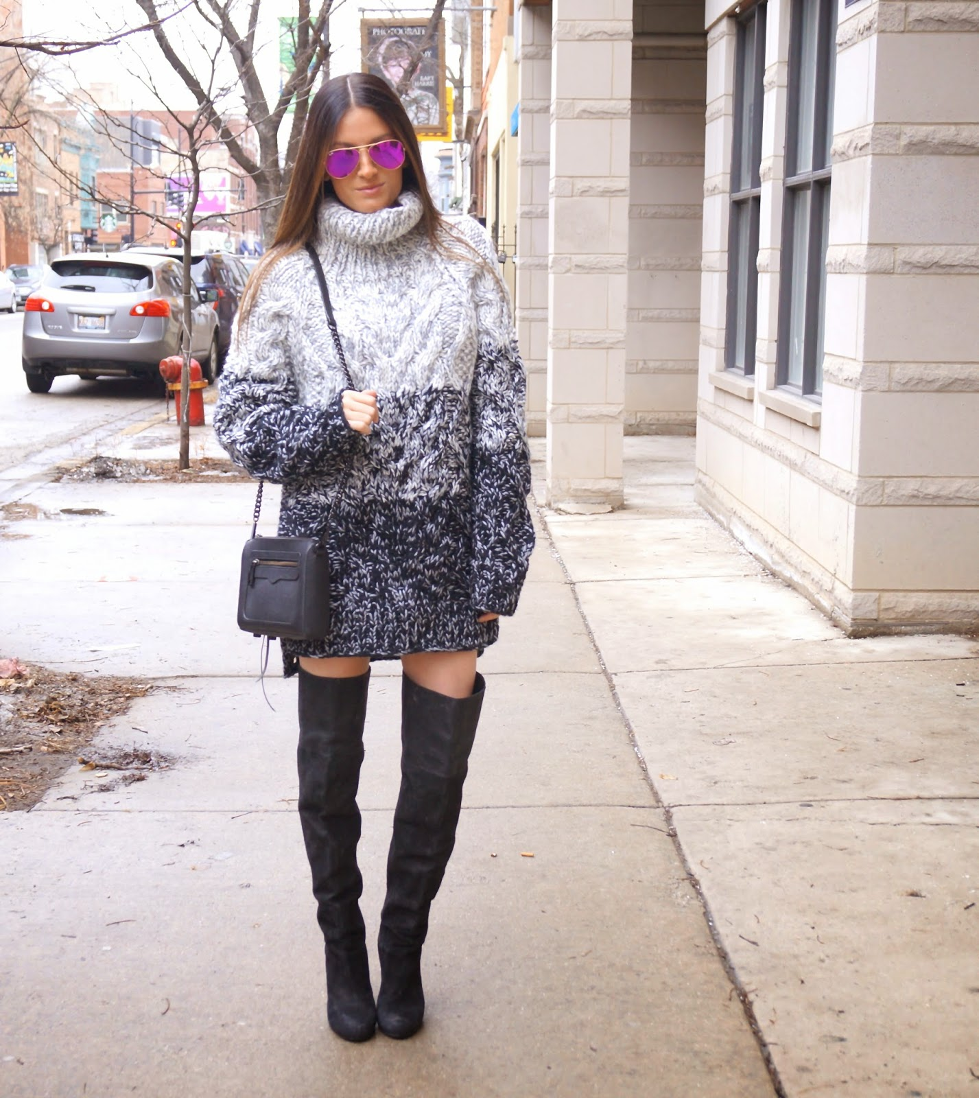 nasty gal ombre sweater