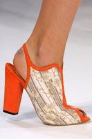 Летни обувки на висок ток без пета и пръсти на Suno