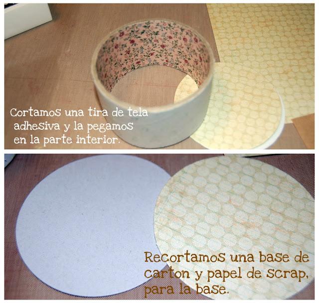 Somia en colors caja redonda paso a paso - Como hacer una cajita con cartulina ...