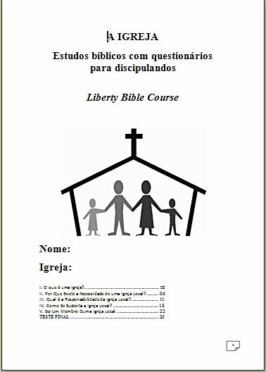 Apostilas De Cursos B  Blicos Para Discindos Para Download