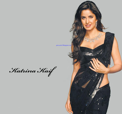 bollywood actress katrina kaif Hot sexy wet saree image gallery