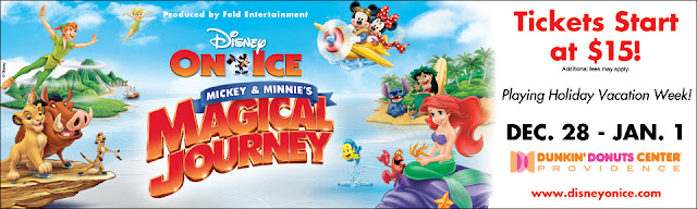 WR186095 Providence CustomWeb Disney On Ice  Mickey and Minnies Magical Journey 4 pack Giveaway  Providence,RI