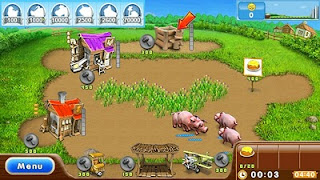 Farm Frenzy 2 HD s60v5 Mobile Game
