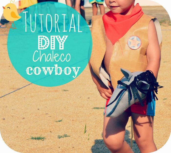 como hacer un chaleco de cowboy vaquero