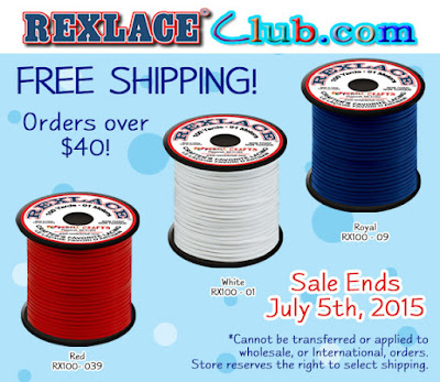 Free shipping on orders of $40+ at Rexlace Club.com