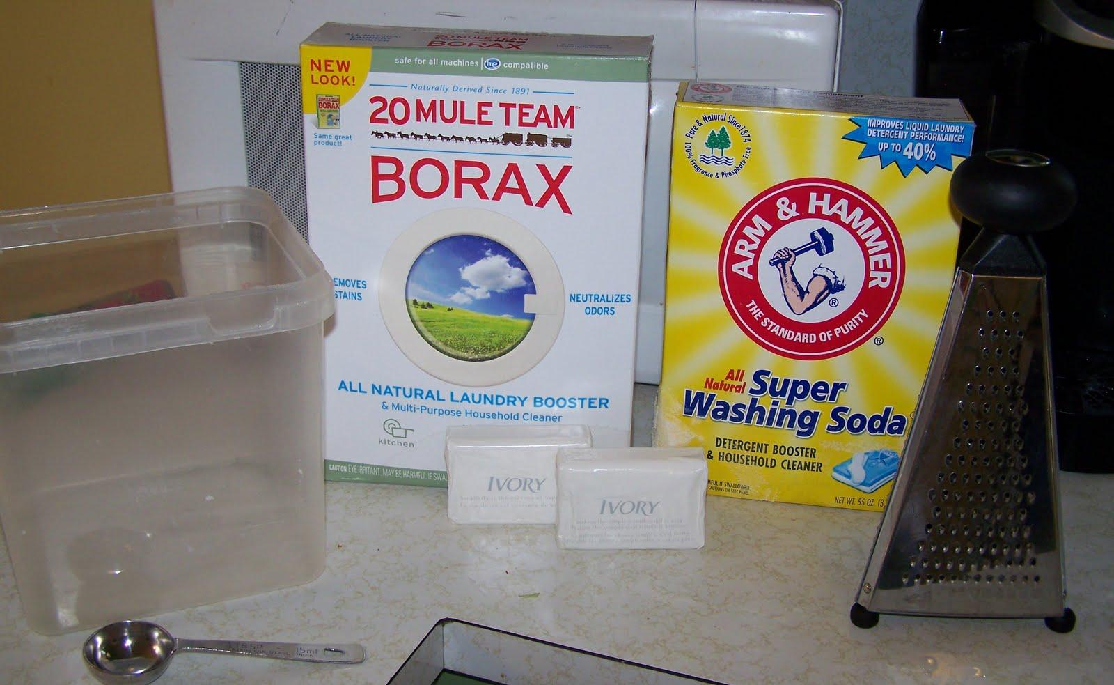Bam Goin 39 Crunchy Homemade Laundry Detergent