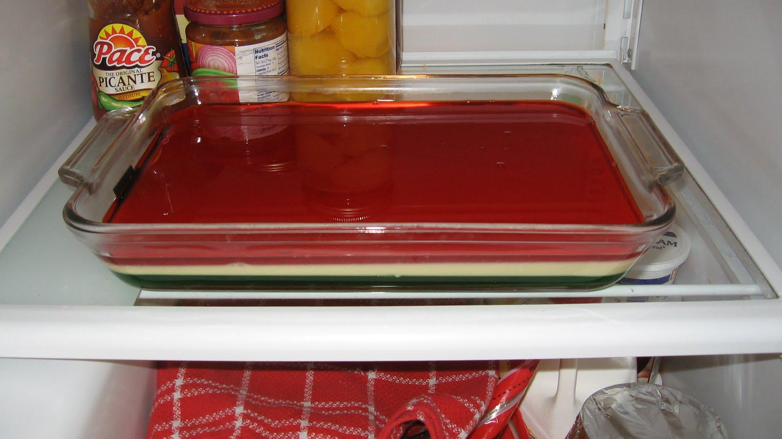 Designer Recipes: Christmas Ribbon Salad