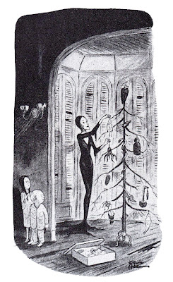 Blame The 1st Nightly Frights Addams Family New Yorker