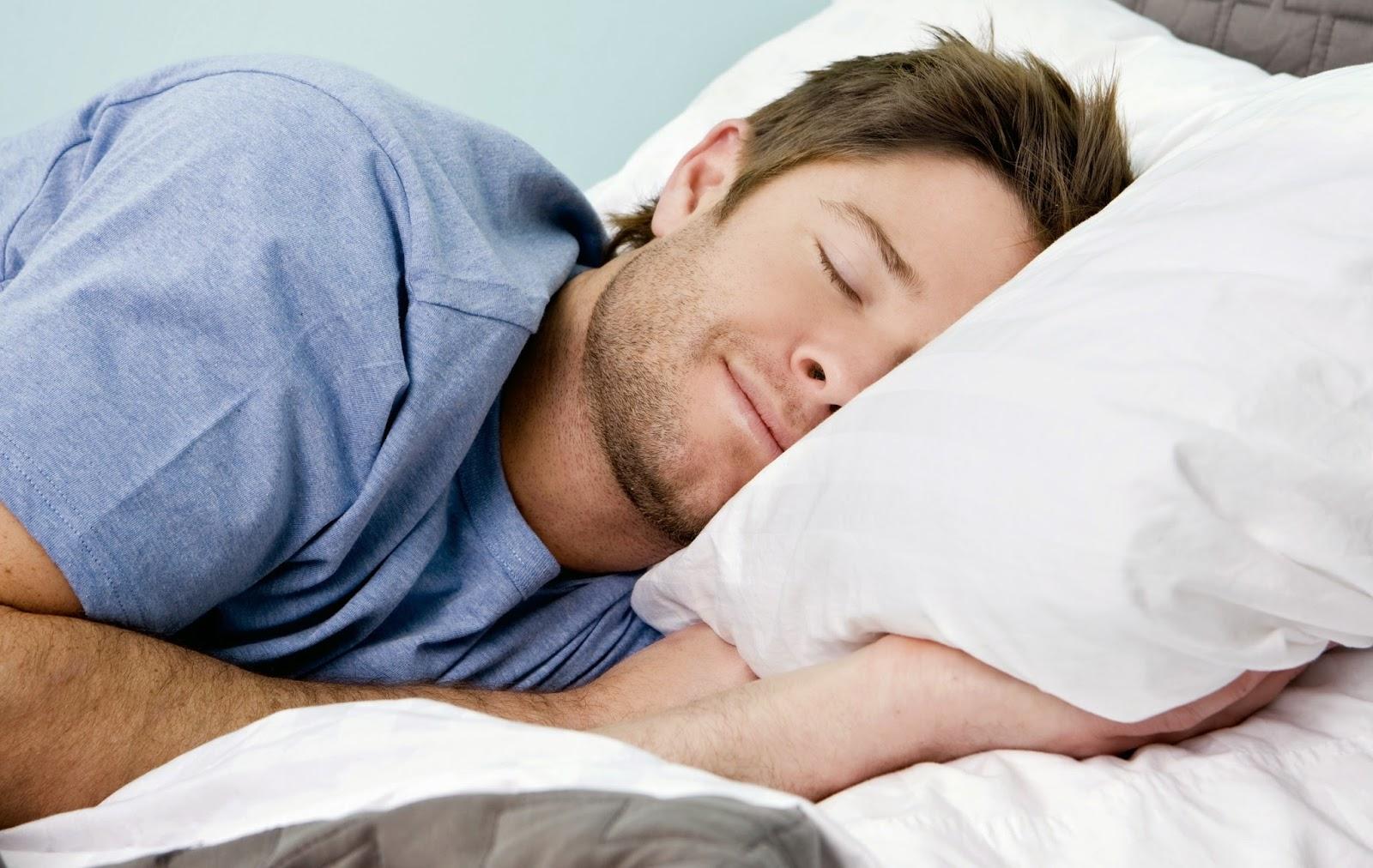 النوم ، وضعيات النوم
