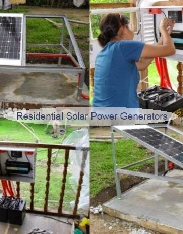 Residential Solar Power Generators