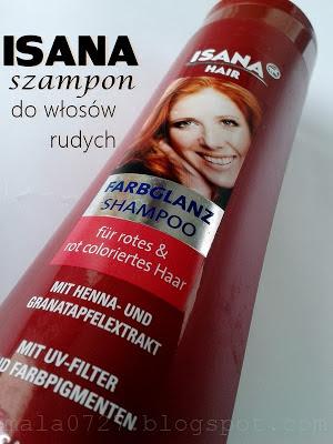 szampon do rudych włosów
