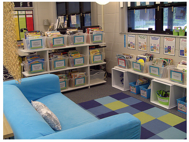 Classroom Library Design Ideas : Classroom libraries setting up the series